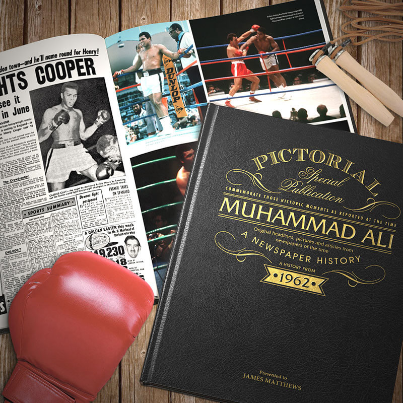 Personalised Muhammad Ali Book