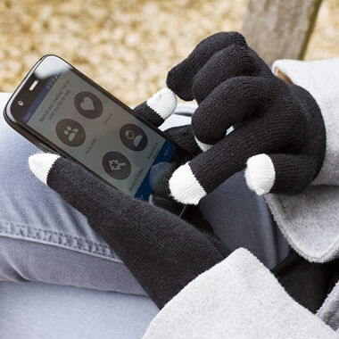 Smart Glove - Touch Glove for iPhone - Black