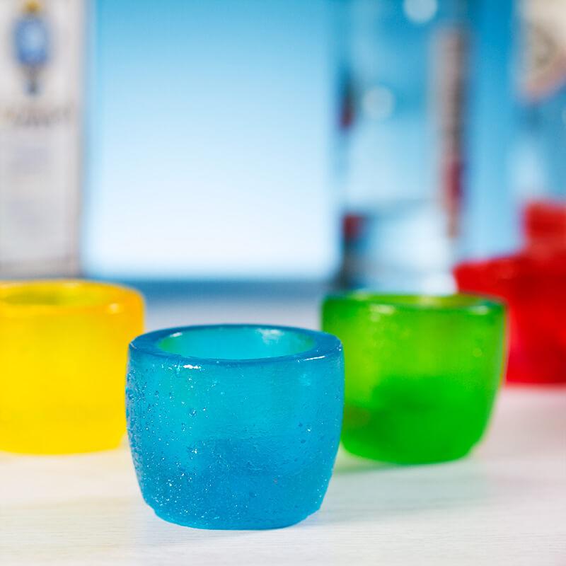 Edible Gummy Shot Glasses