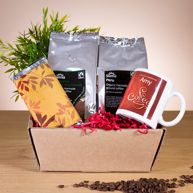 Personalised Coffee Hamper