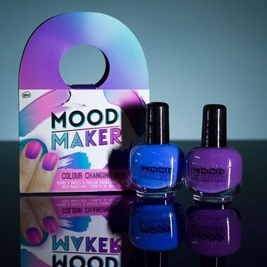 Mood Maker Colour Changing Nail Polish - Purple & Birthday Gifts for Teenage Girls | Prezzybox.com