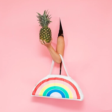 Super Chill Cooler Bag - Rainbow