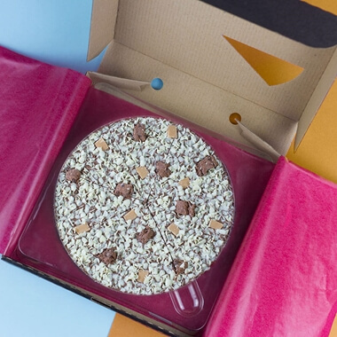Chocolate Pizza  Crunchy Munchy 10''