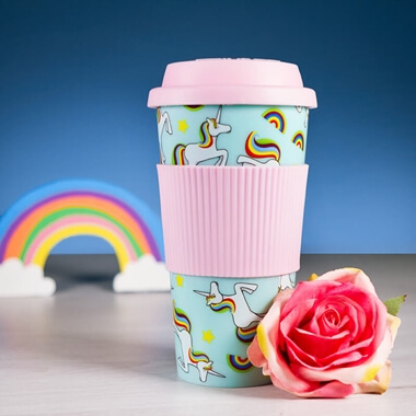 Iris The Unicorn Travel Mug