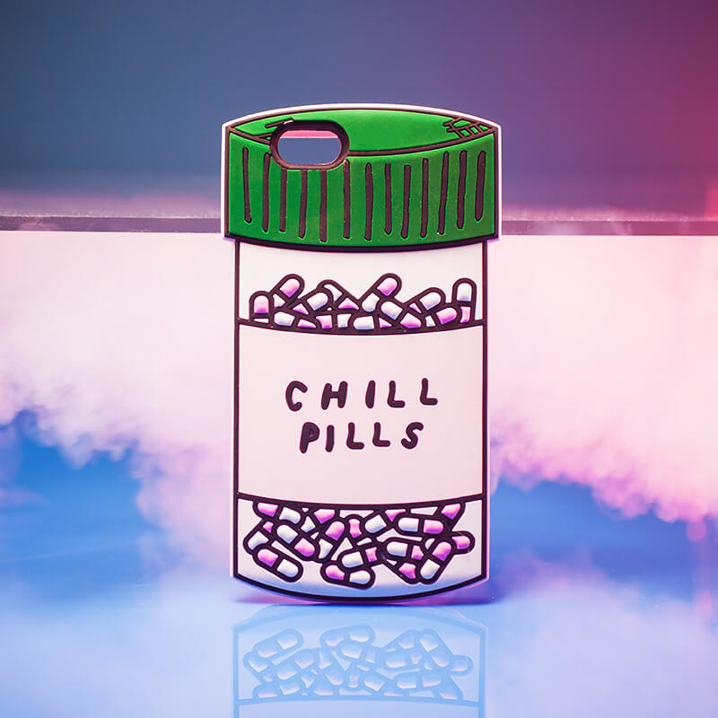 Chill Pills Silicone iPhone 7 Case