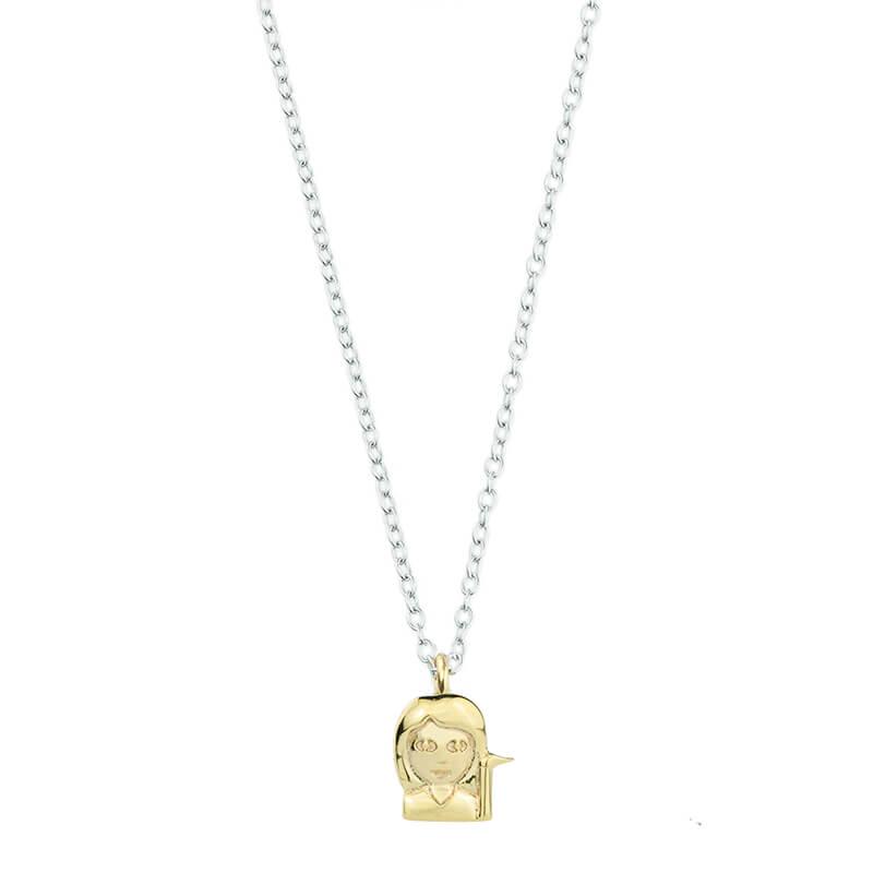 Emoji Sassy Girl Necklace