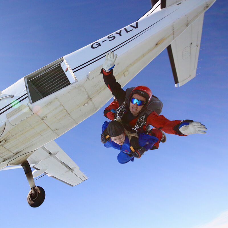 Introductory Tandem Skydive in Devon