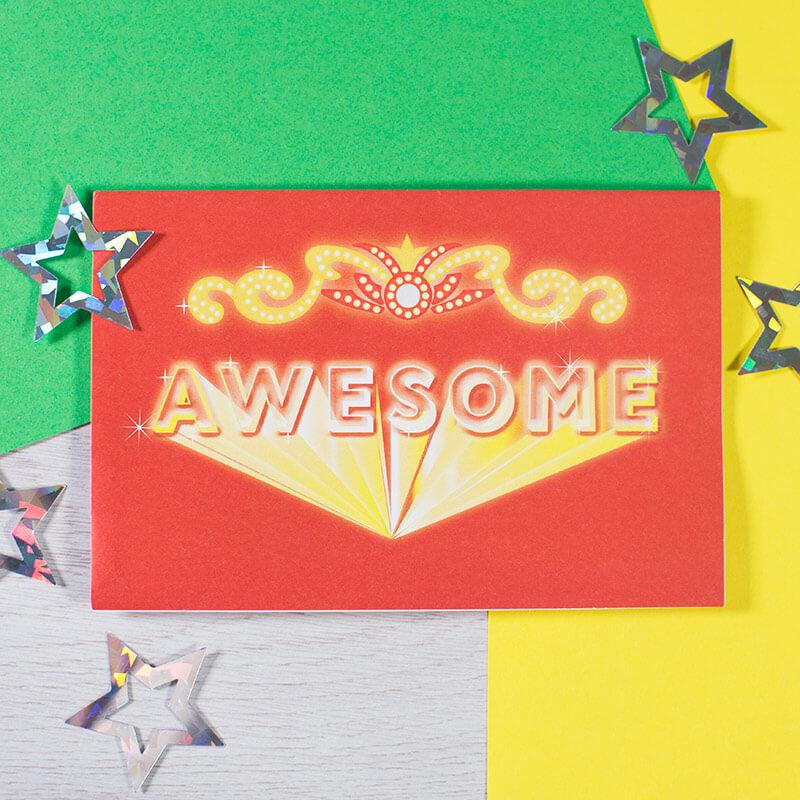 High Five Pop Up Notecards