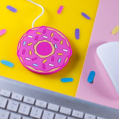 Freshly Baked Donut USB Cup Warmer