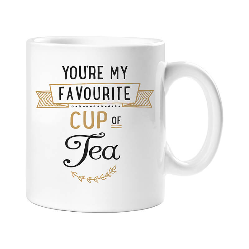 You're My Favourite Cup Of Tea Mug and Cosy Socks