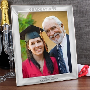 Personalised Large Graduation Photo Frame