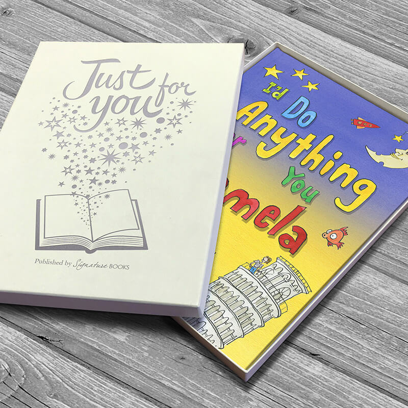 Personalised 'I'd Do Anything For You' Book