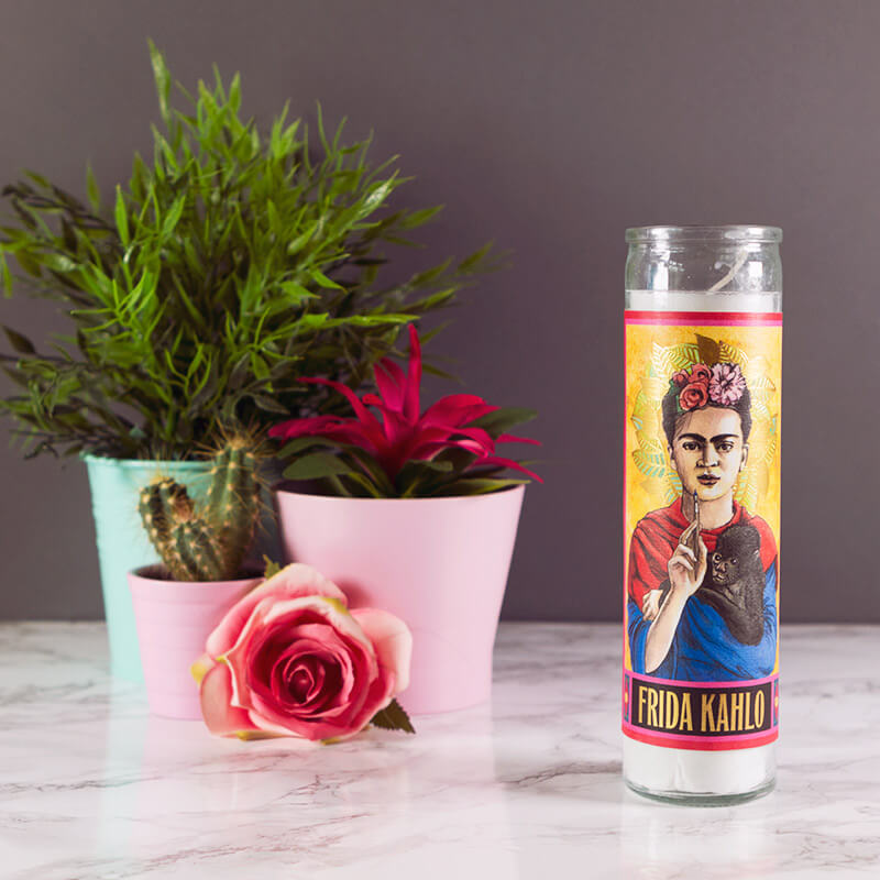 Secular Saints - Frida Kahlo Candle