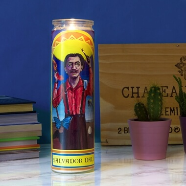Secular Saints - Salvador Dali Candle