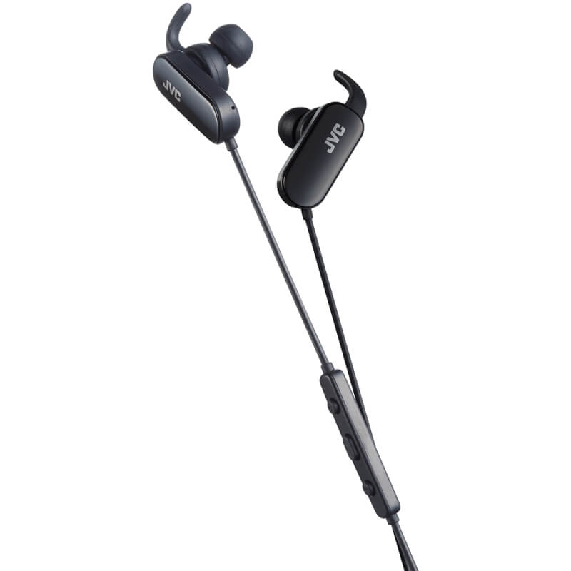 JVC Wireless Sports In-Ear Bluetooth Headphones - Black
