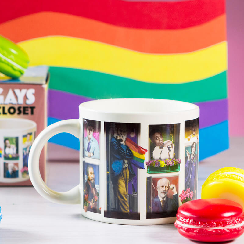 Great Gays Out Of The Closet Transforming Mug