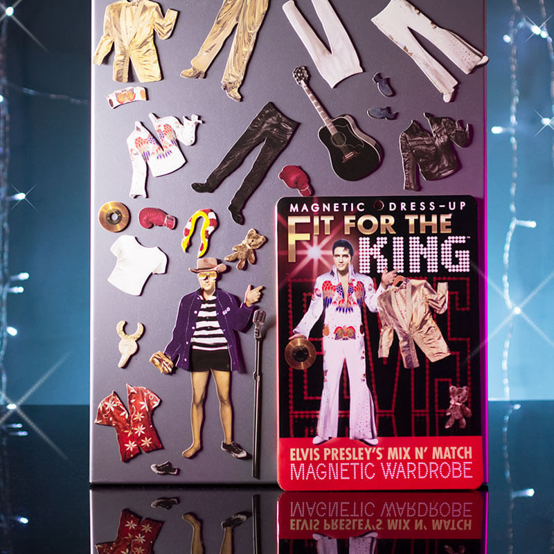 Fit For The King Magnetic Play Set