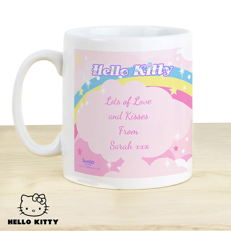 Personalised Hello Kitty Unicorn Mug