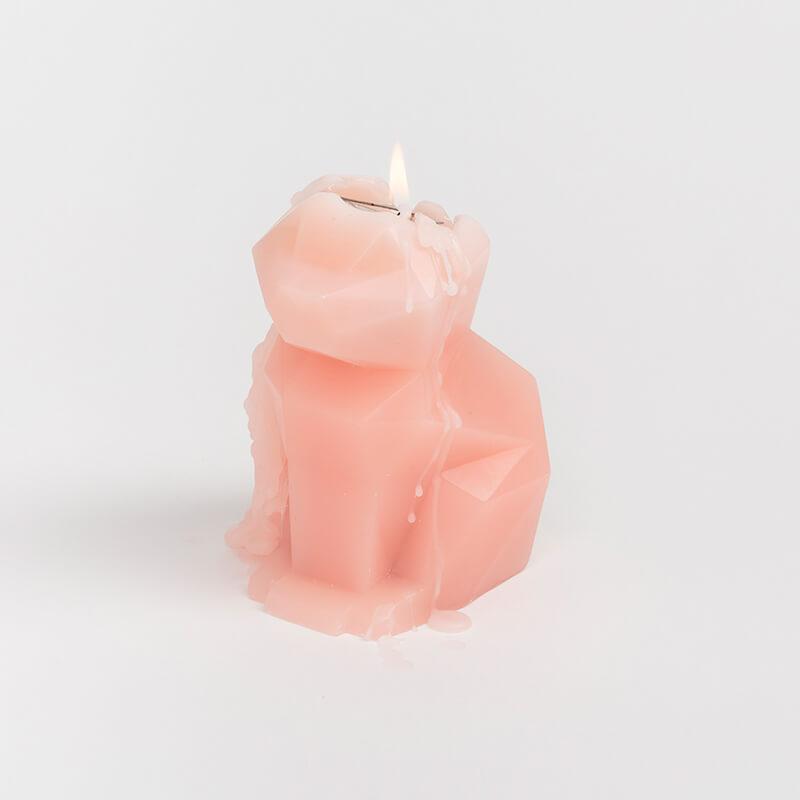 Pyro Pet Hoppa Candle - Peach