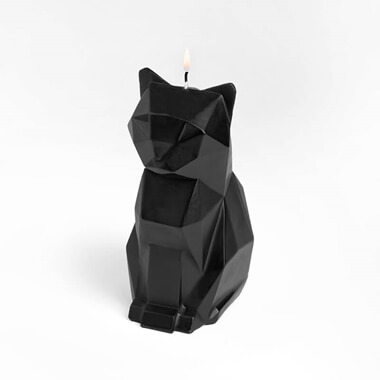 Pyro Pet Kisa Candle - Black