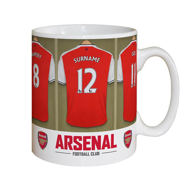 Personalised Football Team Dressing Room Mug