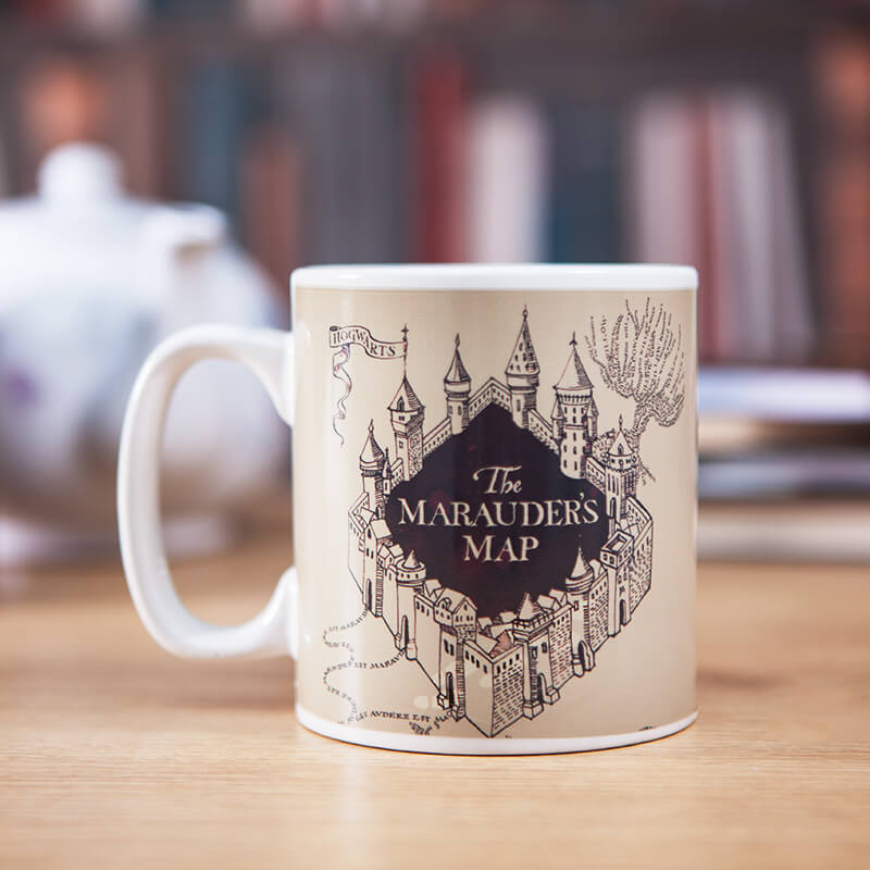 Heat Changing Marauders Map Mug