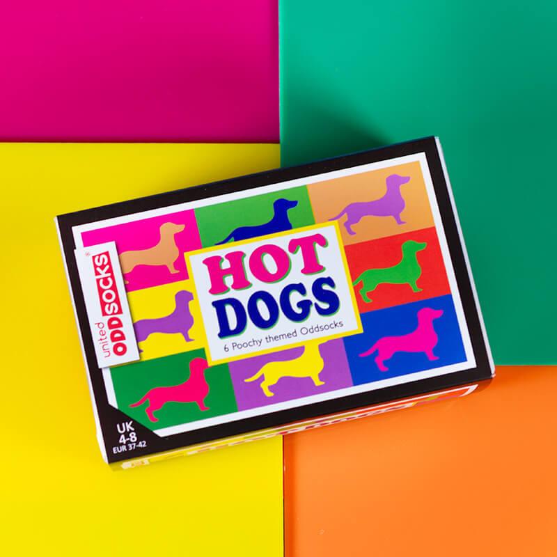 Hot Dogs Ladies Socks