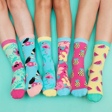 Tropicool Ladies Socks