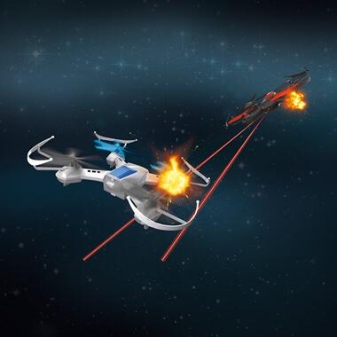 Remote Control Battle Drones - Set Of 2
