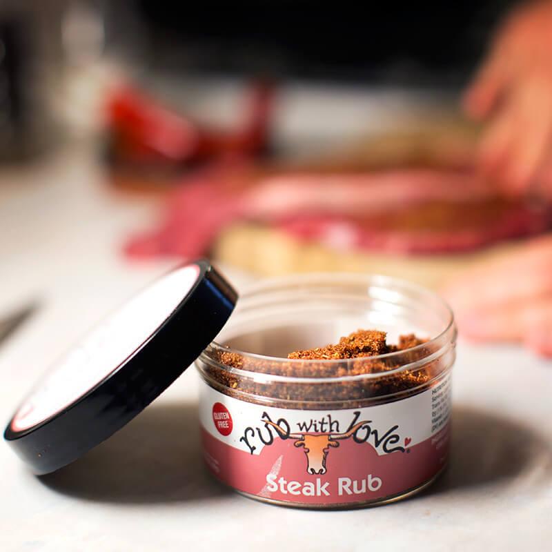 Rub With Love - Chilli Steak Rub