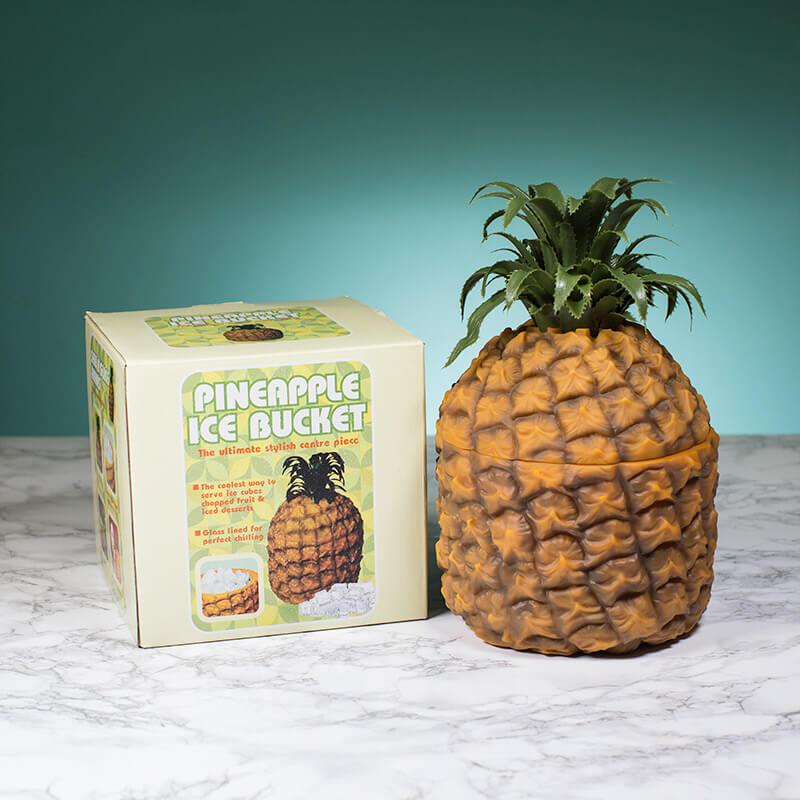 Retro Pineapple Ice Bucket