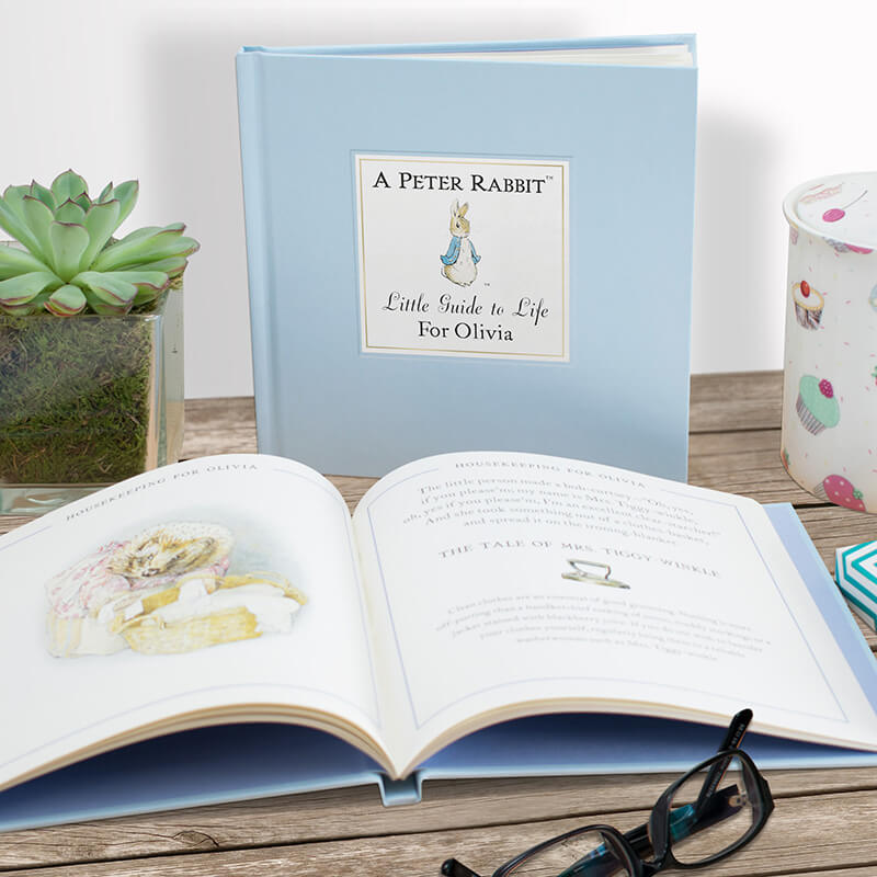 Personalised Peter Rabbit Little Book Of Life
