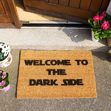 Welcome To The Darkside Doormat