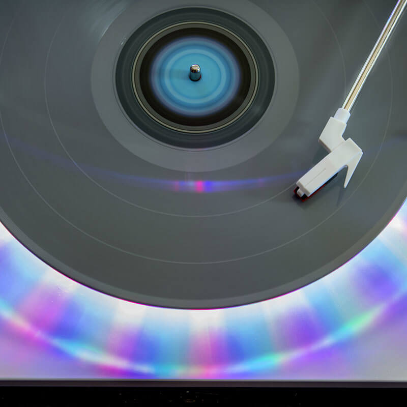 Ion Photon LP - Multi-Color Lighted Turntable With USB Conversion