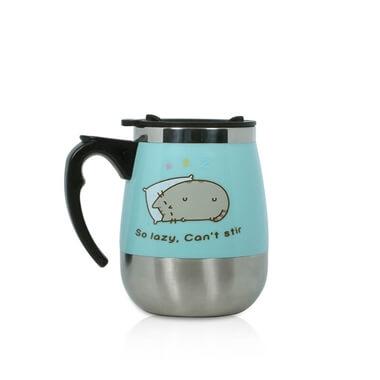 Pusheen Self-Stirring Mug
