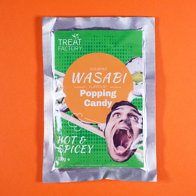 Wasabi Popping Candy