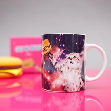 Cat In Space Mug