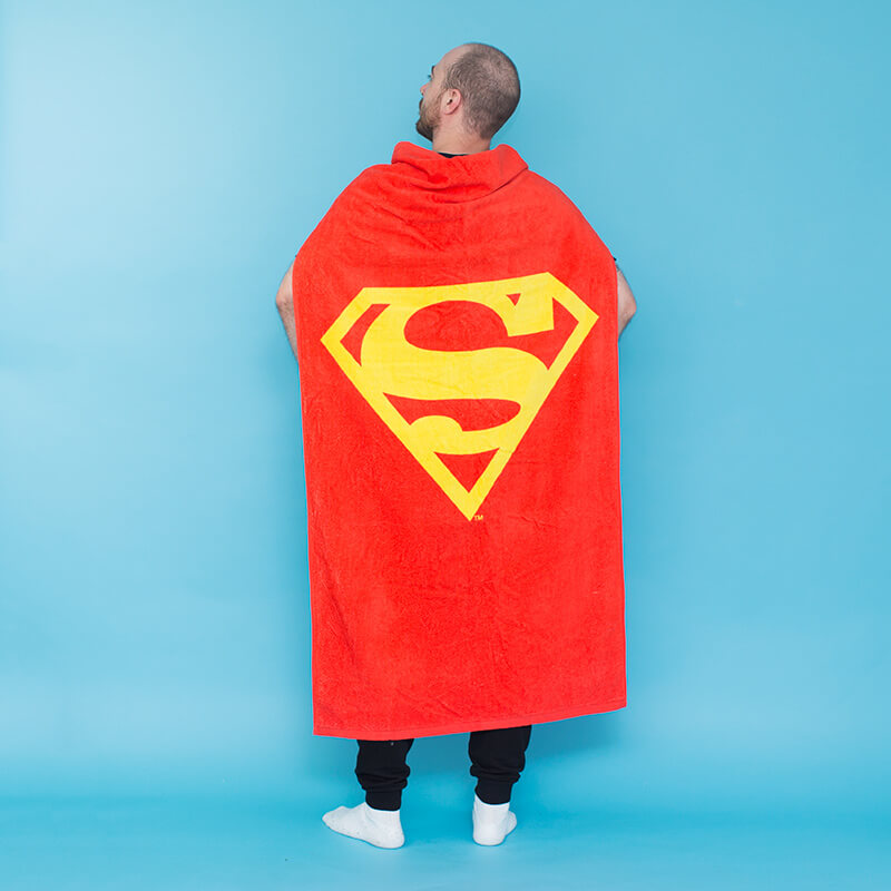 Superman Cape Towel