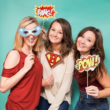 Selfie Kit Superheroes