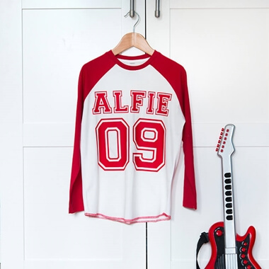 Personalised Raglan Shirt