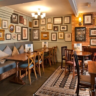 Two Course Gastropub Meal with Drink for Two
