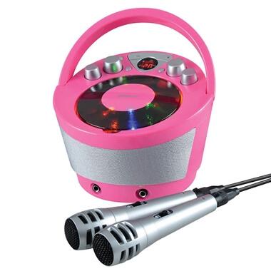 Karaoke Boombox - Pink