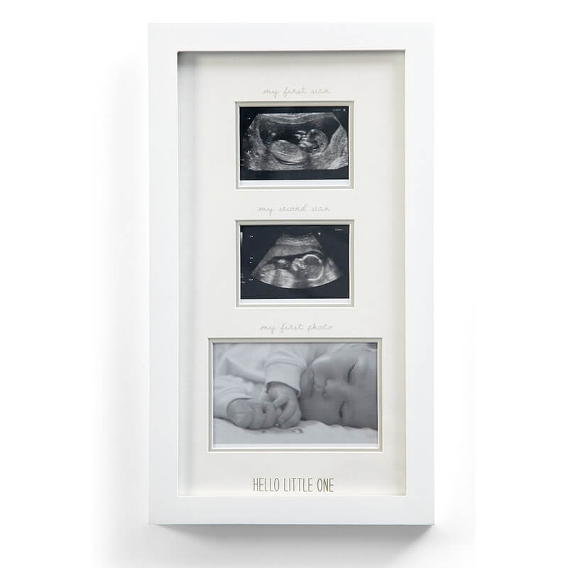 Double Baby Scan Frame