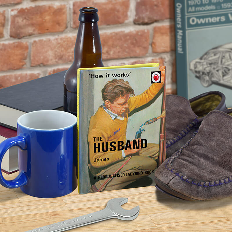 Personalised Ladybird Book of The Husband