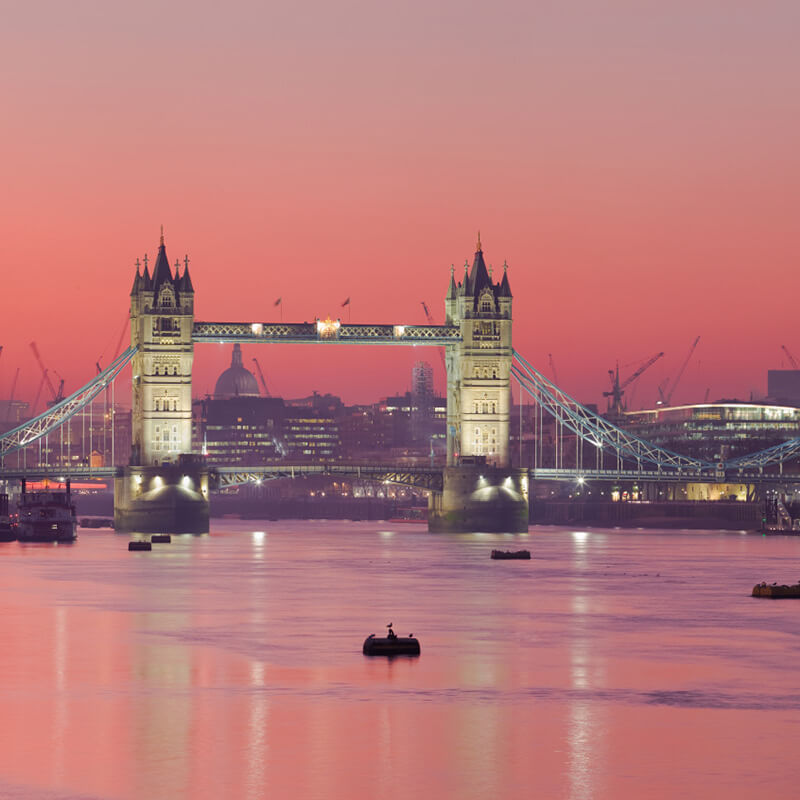 Thames Evening Cruise with Bubbly and Canapes - Special Offer