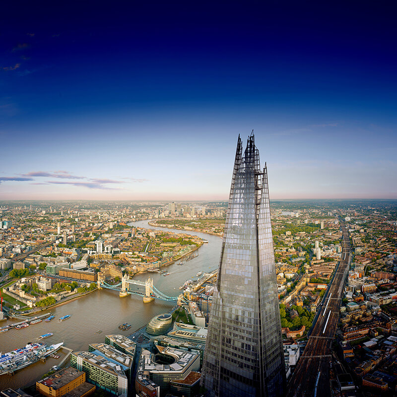 The View From The Shard and Three Course Meal at Marco Pierre White, Islington