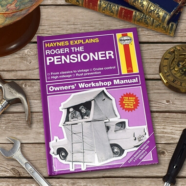 Personalised Haynes Explains The Pensioner Book