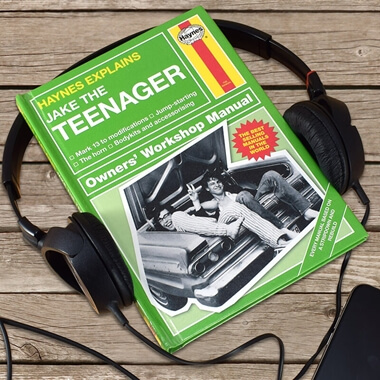 Personalised Haynes Explains The Teenager Book