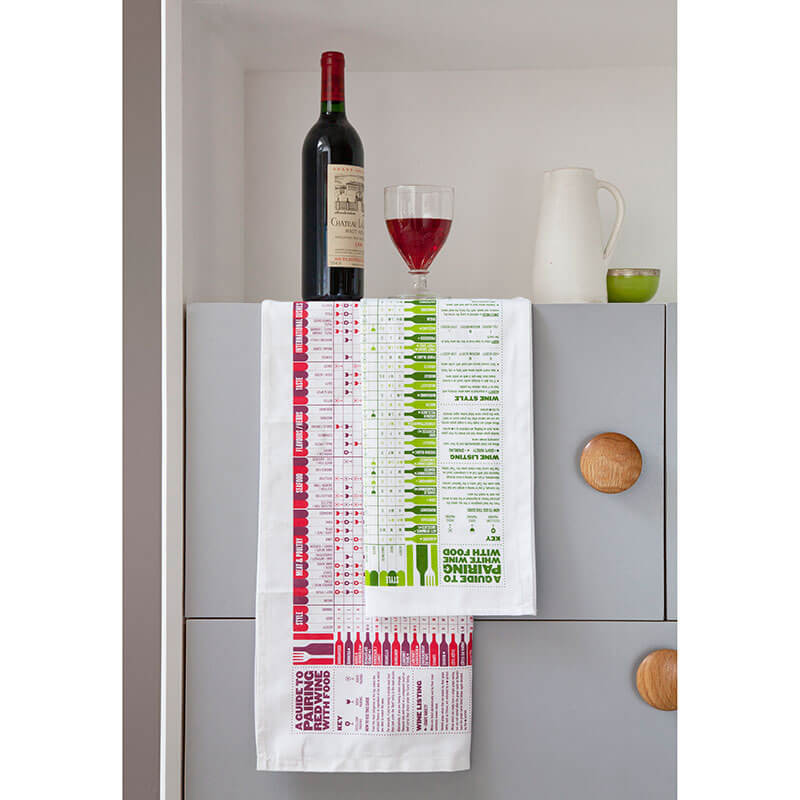A Guide To Pairing Wine With Food Tea Towel Pair