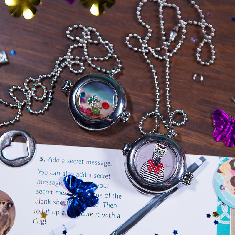 Make Your Own Keepsake Lockets